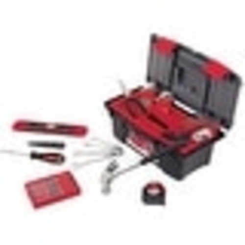 Apollo DT9773 Household Tool Kit With Tool Box, 53 Piece