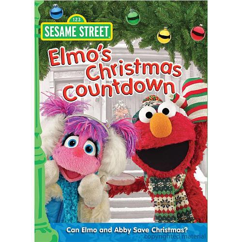 Elmo's Christmas Countdown DVD