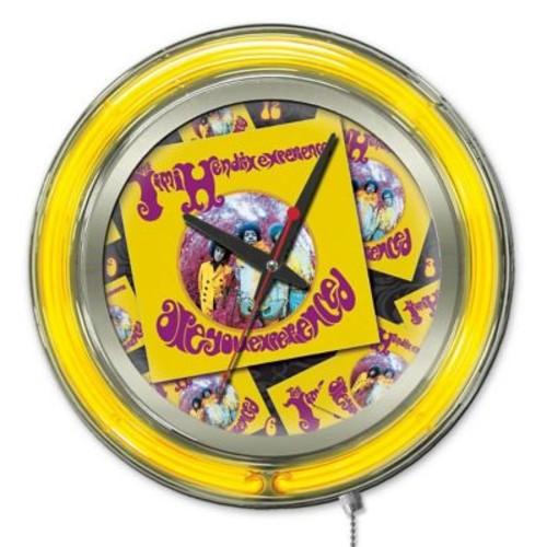 Holland Bar Stool Jimi Hendrix Album Double Neon Ring Logo Wall Clock; 15'' H x 15'' W x 3'' D