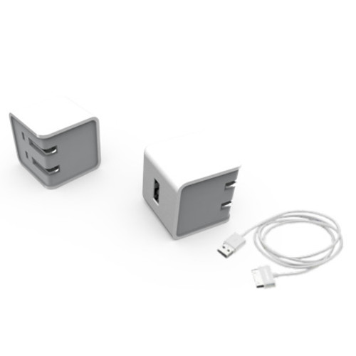 Charger and 30-Pin Cable for Samsung Galaxy Tab (6 feet)