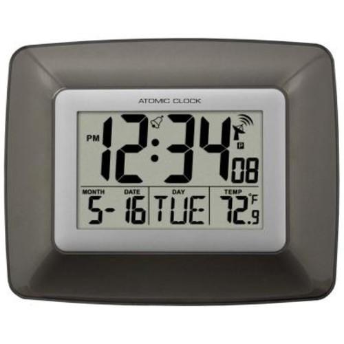 La Crosse Technology Digital Wall Clock with Temperature
