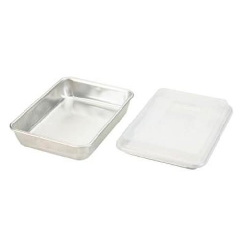 Nordic Ware Naturals 3-Piece Silver Bakeware Set