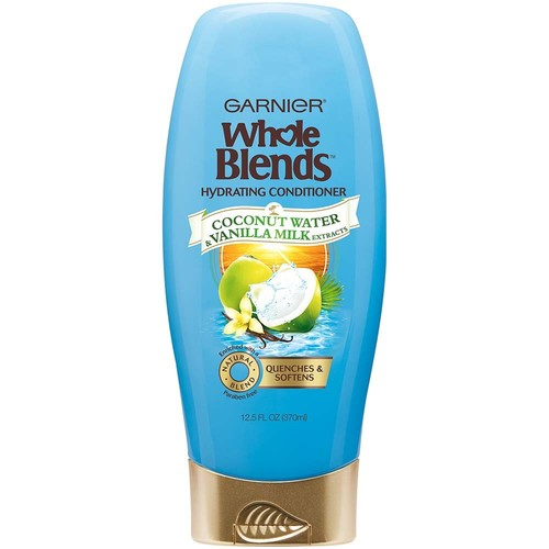 Garnier Whole Blends Coconut Water & Vanilla Milk Extracts Hydrating Conditioner, 12.5 fl oz, 1 Count