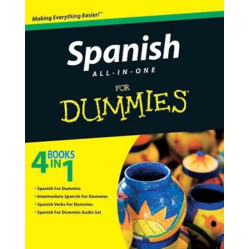 Spanish All-in-One For Dummies Consumer Dummies Paperback