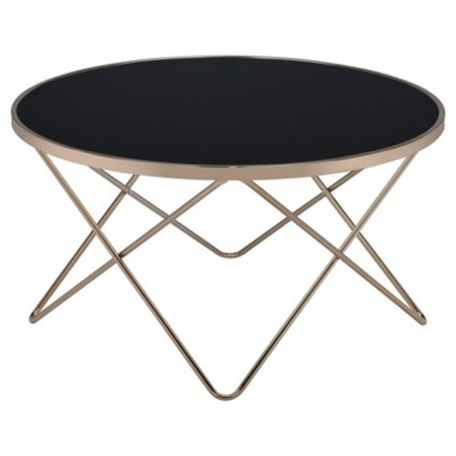 Coffee Table Black Champagne
