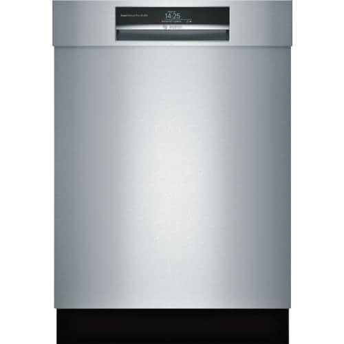 Bosch SHEM78WH 24 Inch Wide 16 Place Setting Energy Star Built-In Semi Integrated Dishwasher with Express Cycle and Home Connect