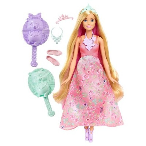 Barbie Dreamtopia Color Stylin' Princess Doll - Pink
