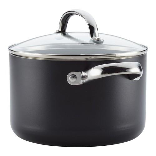 Farberware Buena Cocina 4-Qt Aluminum NonstickSoup Pot w/ Lid