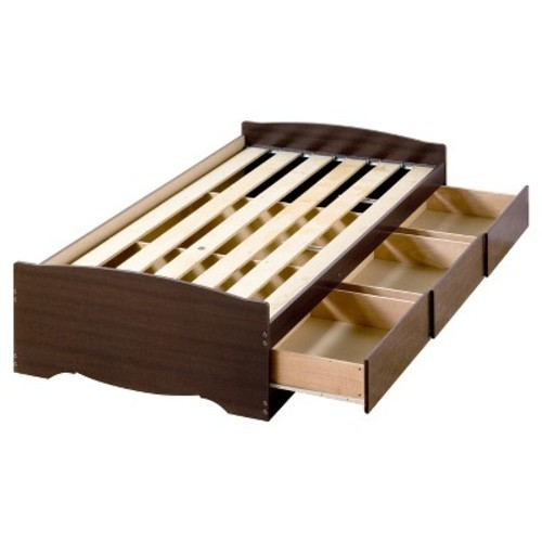 Prepac Fremont Twin XL Wood Storage Bed