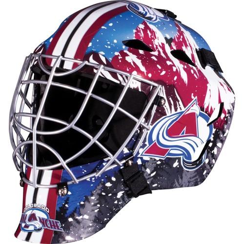 Franklin Sports GFM 1500 NHL Colorado Avalanche Goalie Face Mask