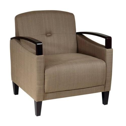 Ave Six Main Street Seaweed Fabric Arm Chair