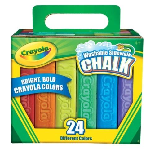 Crayola 24 Sticks Sidewalk Chalk (51-2024)