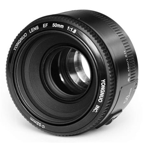 Yongnuo 50mm f/1.8 MC Lens for Canon EOS Cameras YN50MM CA