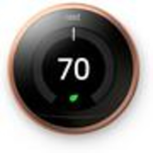 Nest Learning Thermostat, 3rd Generation (Copper) Smart learning thermostat
