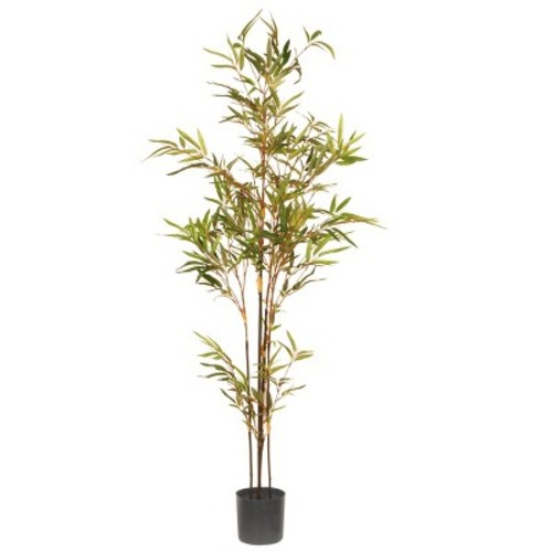 National Tree Company 4 Ft. Artificial Potted Japanese Bamboo Tree