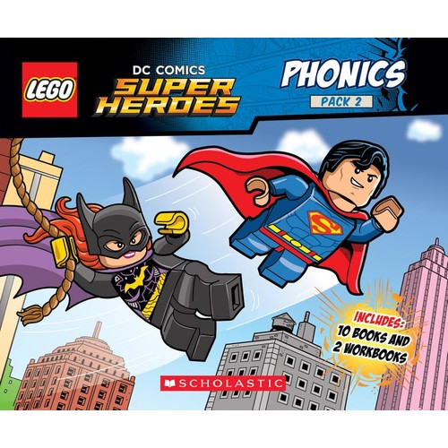 Lego DC Super Heroes Phonics Set