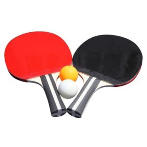 Hathaway HATHAWAY Single Star Control Spin Table Tennis 2-player Racket and Ball Set