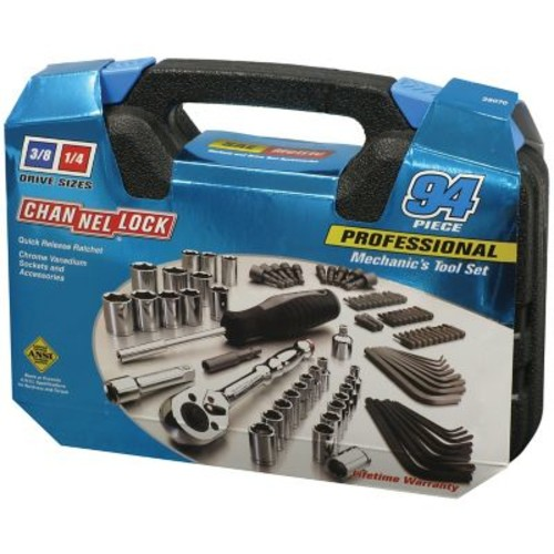 Channellock Professional Mechanics Tool Set, 94 Pieces