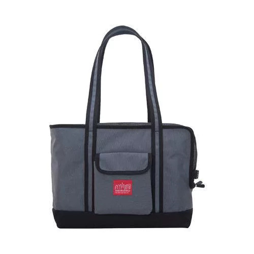 Manhattan Portage Pet Carrier Tote Bag (Medium) Black/Grey