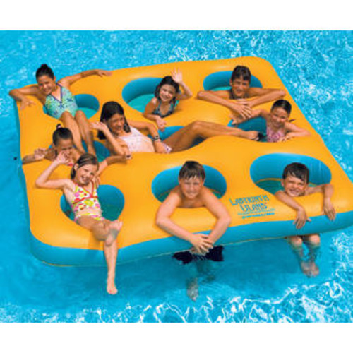 Swimline Labyrinth Island Inflatable Float for Swimming Pools - Up to 9 kids