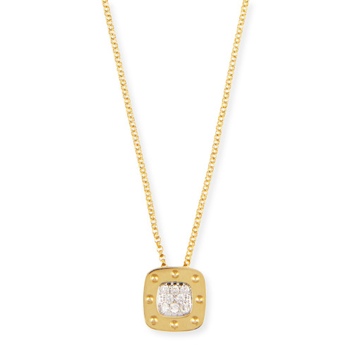 'Pois Moi' Diamond Pendant Necklace