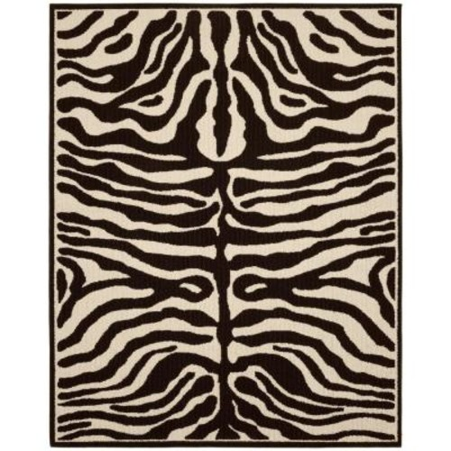 Garland Rug Safari Putty/Ivory 8 ft. x 10 ft. Area Rug