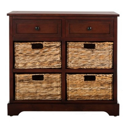 Storage Cabinet Brown - Safavieh