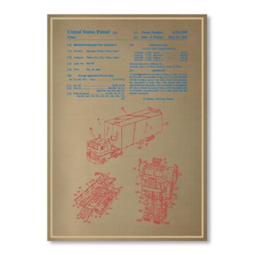 Americanflat Optimus Prime Print
