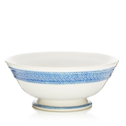 Le Panier Delft Footed Fruit Bowl
