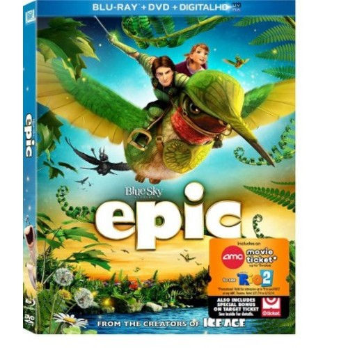 Epic [2 Discs] [Includes Digital Copy] [UltraViolet] [Blu-ray/DVD] COLOR/WSE DHMA/DD5.1/DD2