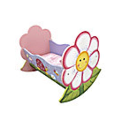 Magic Garden Rocking Doll Bed