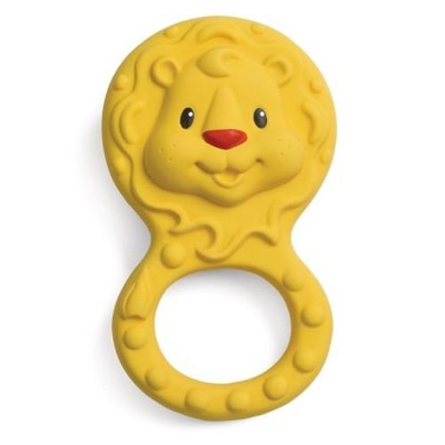 Infantino Go GaGa Squeeze & Teethe Textured Pal - Lion