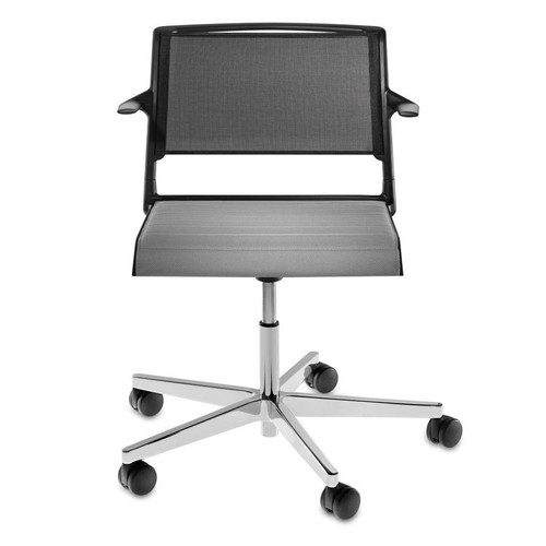 Aline Task Chair [Fabric\/color : No Fabric; Style : Without Arms]