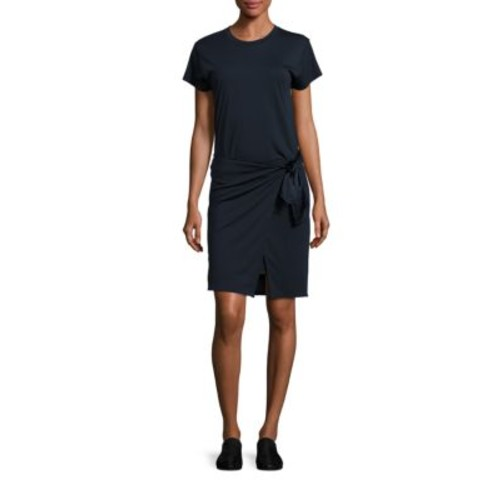 RAG & BONE Andie Tie-Waist T-Shirt Dress