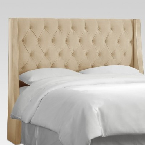 Marcone Full Wingback Headboard, Quick Ship