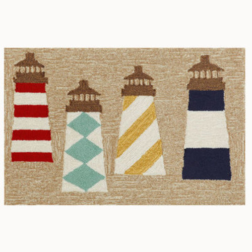Front Porch Rug - Lighthouses