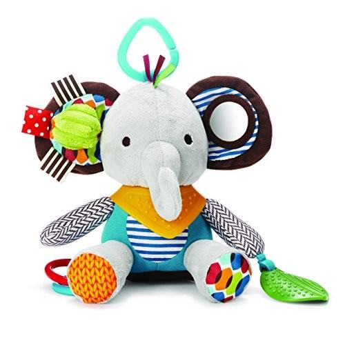 Skip Hop Bandana Buddies Soft Activity Toy, Elephant