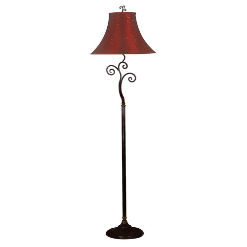 Kenroy Home 31381BRZ Richardson Bronze Floor Lamp