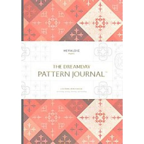 The Dreamday Pattern Journal Heraldic - Paris: Coloring-in Notebook for Writing, Musing, Drawing and ... (Notebook / blank book)