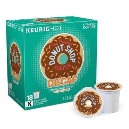 The Original Donut Shop Medium Roast Coffee Keurig Decaf K-Cup Pods - 18ct