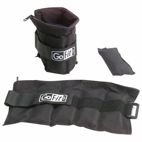 Adjustable Ankle Weights by GoFit [10 lb]