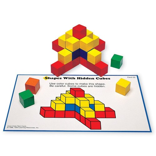 Learning Resources Creative Color Cubes, 100 Pieces