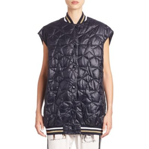 STELLA MCCARTNEY Sleeveless Star Quilted Puffer Vest