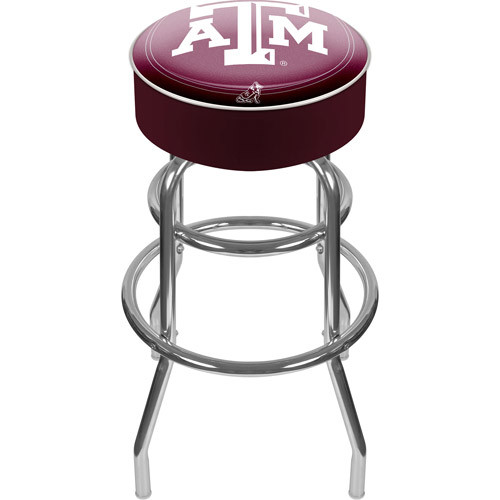 Trademark Games Texas A&M Aggies Padded Bar Stool