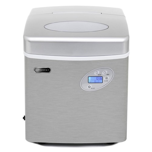 Whynter IMC-491DC Portable Ice Maker 49 lb with direct water connection