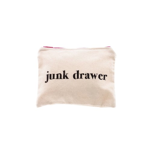 Junk Drawer Zipper Bag