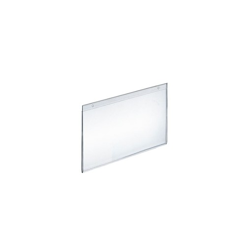 Azar Displays Wall-Mount U-Frame Acrylic Sign Holders, 5 1/2
