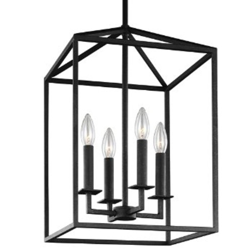 Perryton Foyer Pendant [Light Option : Incandescent; Finish : Blacksmith]