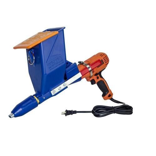 Bon Tool Speedy Mortar Pointer Caulk Gun with Black & Decker Drill