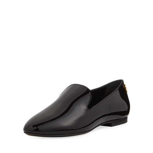 SAINT LAURENT Patent Leather Loafer